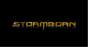 Band Logo for STORMBORN RELEASE