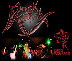 Rock matrix   red lion