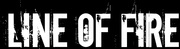 Band Logo for LINE OF FIRE