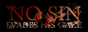 Band Logo for NO SIN EVADES HIS GAZE