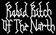 Band Logo for RABID BITCH OF THE NORTH