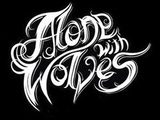 Band Logo for ALONE WITH WOLVES