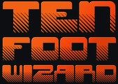 Band Logo for TEN FOOT WIZARD