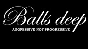 Band Logo for BALLS DEEP