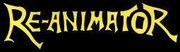 Band Logo for RE-ANIMATOR