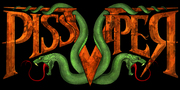 Band Logo for PISS VIPER
